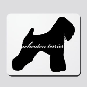 Wheaten Terrier DESIGN Mousepad